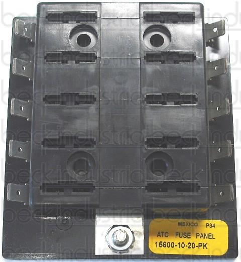 10 Position Fuse Block