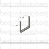 """Beck 18"""" Ladder Extension"""