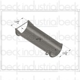 Advance/Terex 18 Ga. Standard Extension Chute (Ultralight Weight)