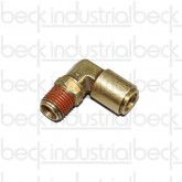 "Airline Swivel Elbow NPT 90° Fitting 3/8"" x 1/4"""