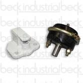 Beck Chute Lock Assembly