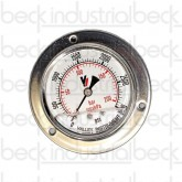 3000 PSI Trailer Hydraulic Pressure Gauge