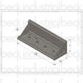 """10"""" Upper Mounting Angle"""